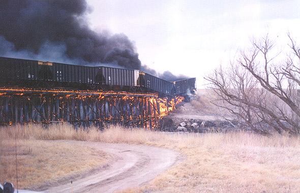 The Turkey Creek Bridge Fire Ripley S Believe It Or Not