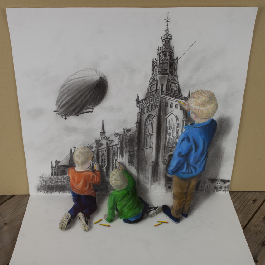 Super cool 3d drawings ii ripley 39 s believe it or not for 3d sketch online