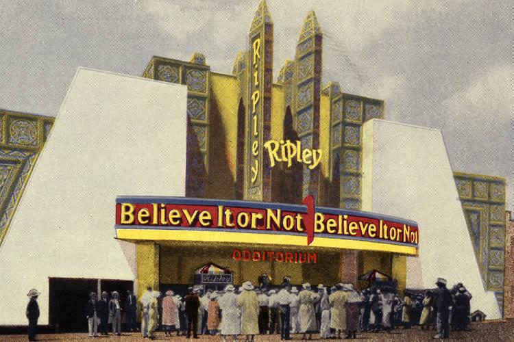 1934 - Chicago Odditorium