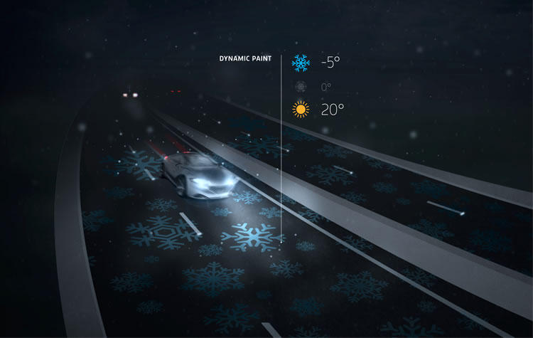 Smart Highway - dynamic paint - Studio Roosegaarde