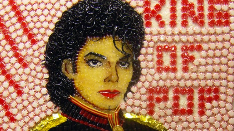 Michael Jackson made of candy