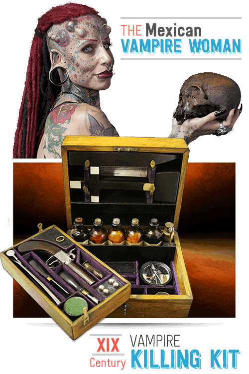 Vampire Woman & 19th Century Vampire Kit