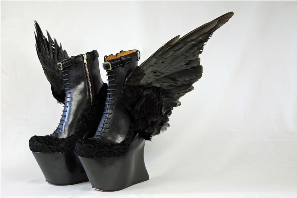 los zapatos mas extraños