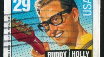 buddy holly stamp