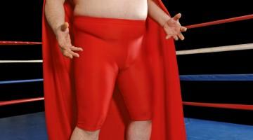 large wrestler