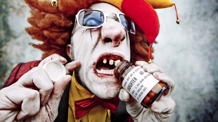 The day they realised they needed to introduce drug testing at clown school