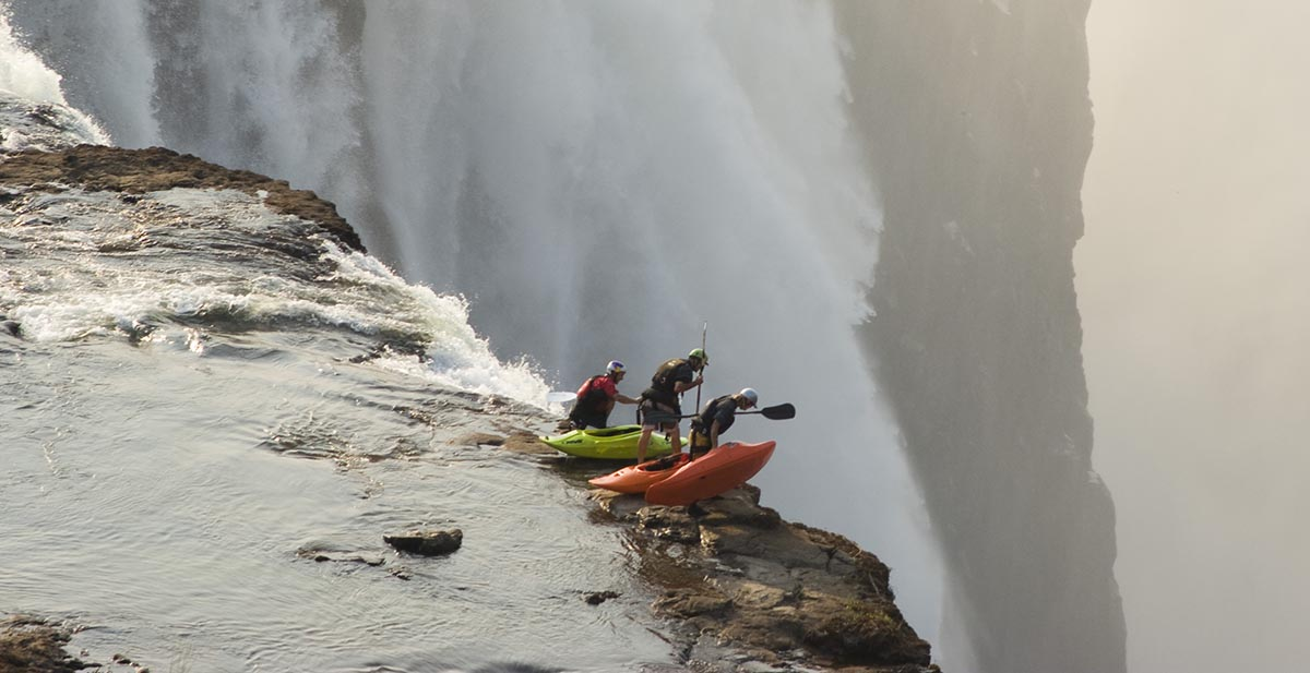 Fisher, Drevo, Jardine - Victoria Falls