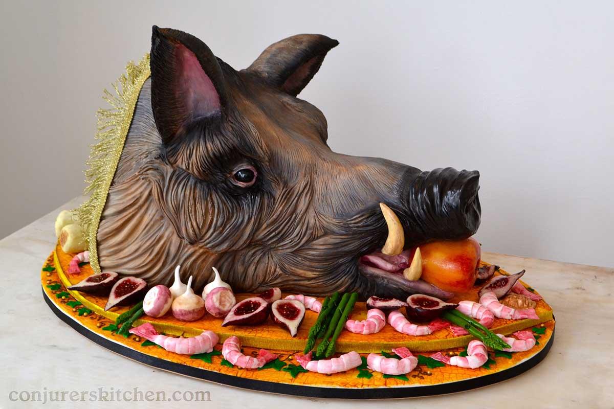 boar watermark