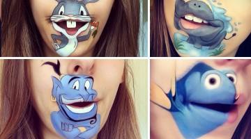 Realistic face paint