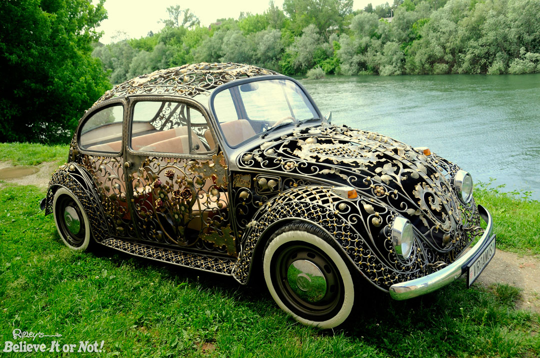 Amazingly Intricate Wrought Iron Vw Beetle