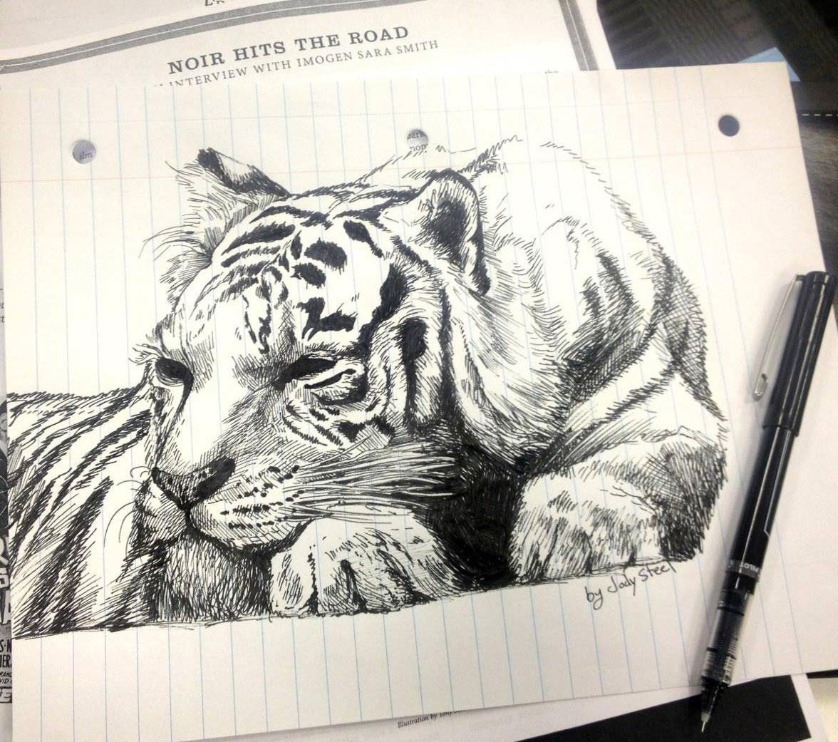 More of Jody Steel Artwork. Follow her on Facebook!