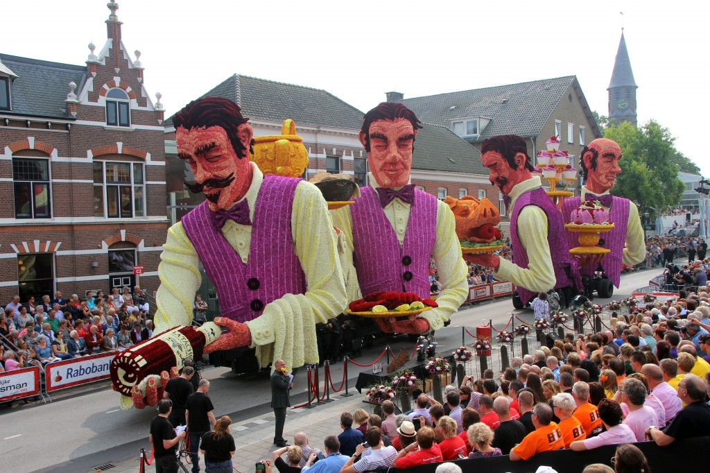 The Zundert Flower Parade, Zundert, Netherlands 2014 - 07 Sep 2014