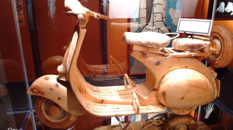 Ripley's Wooden Vespa