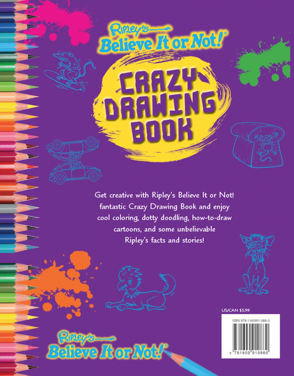 Crazy Drawing Book
