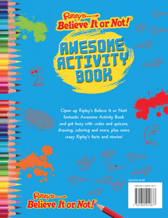 Awesome Activity Book Ripley S Believe It Or Not