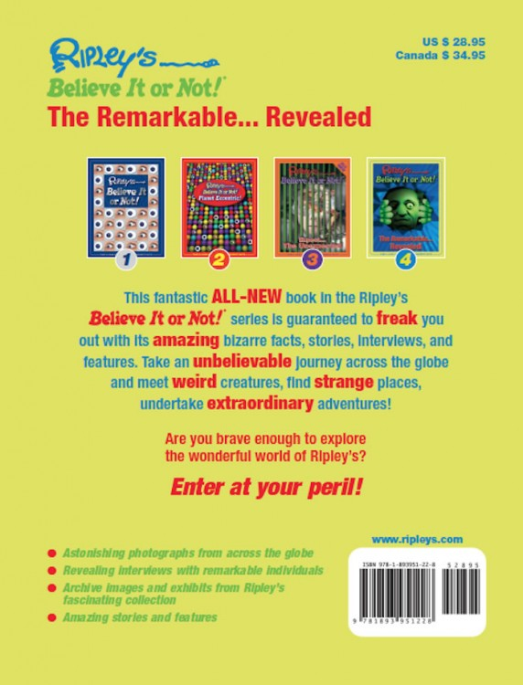 The Remarkable Revealed!