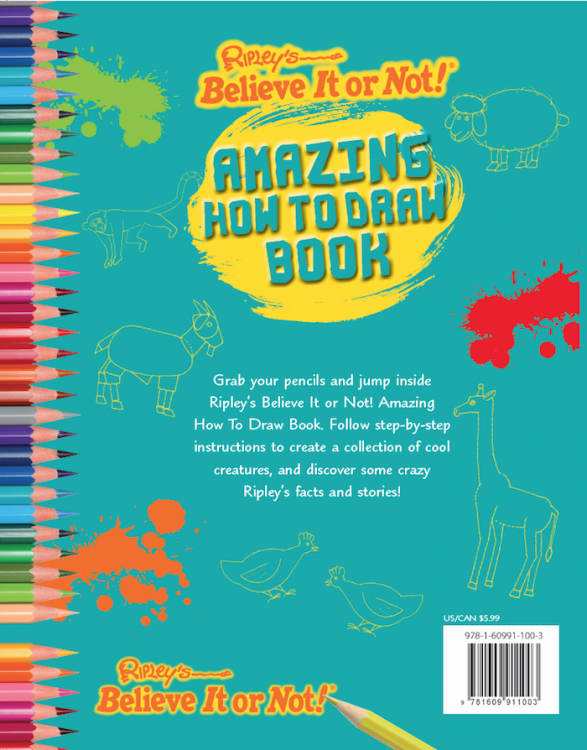 Amazing How To Draw Book