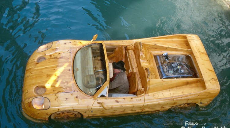 Ripley's Is Sailing A Wooden Ferrari