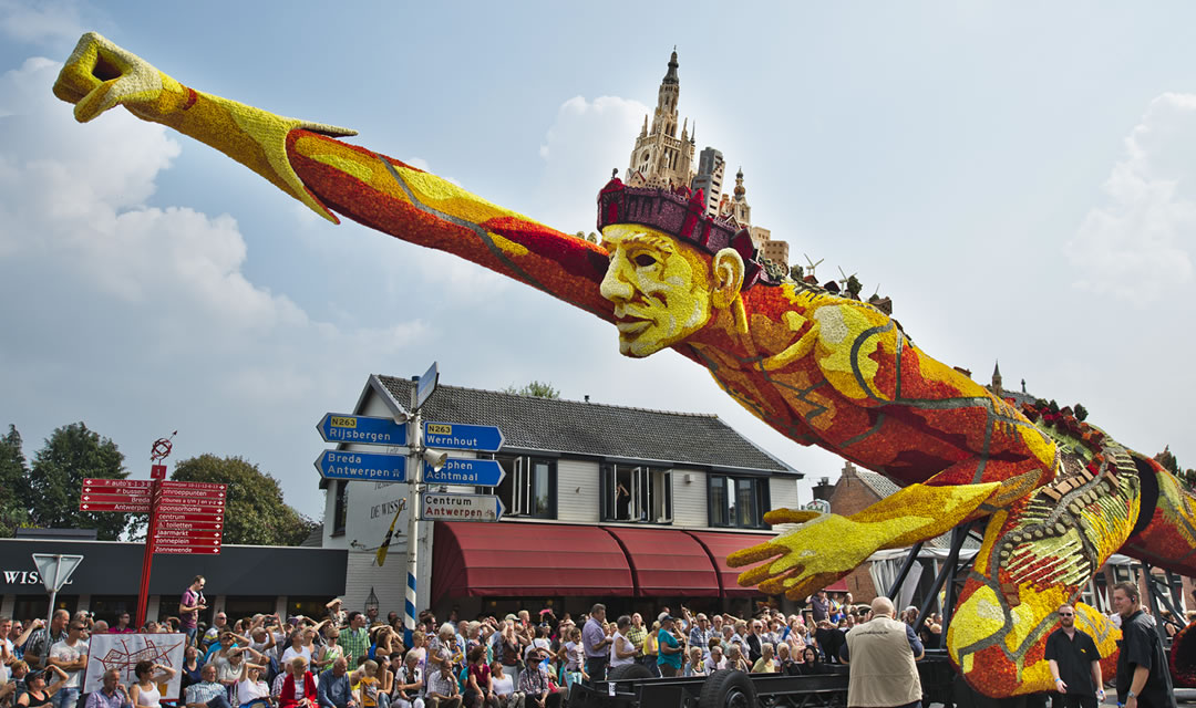 Top 10 Floats Of The Zundert Flower Parade