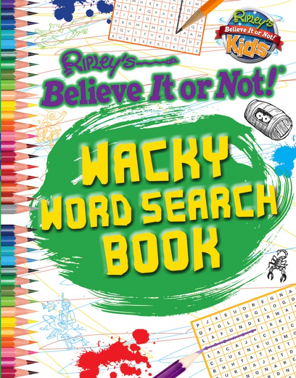 Wacky Word Search Book