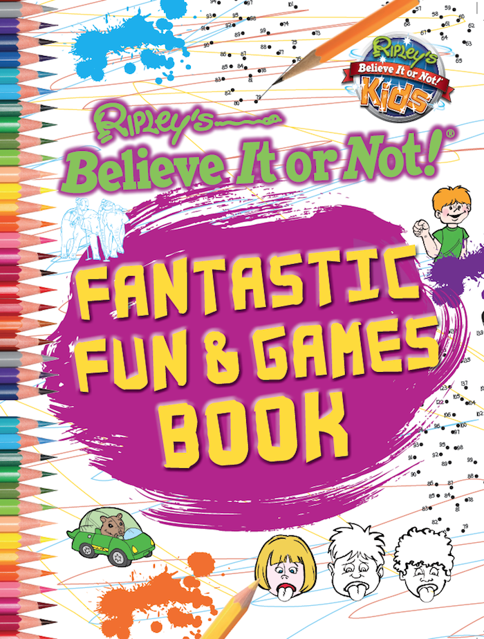 Fantastic Fun Amp Games Book Ripley S Believe It Or Not