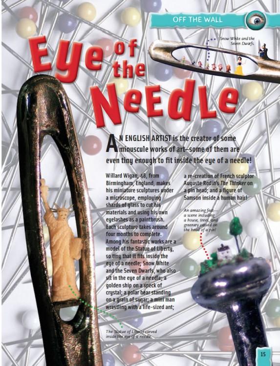 Planet Eccentric needle art
