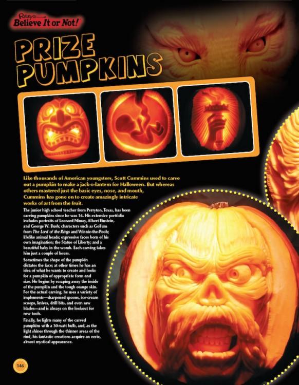 Prepare To Be Shocked pumpkins