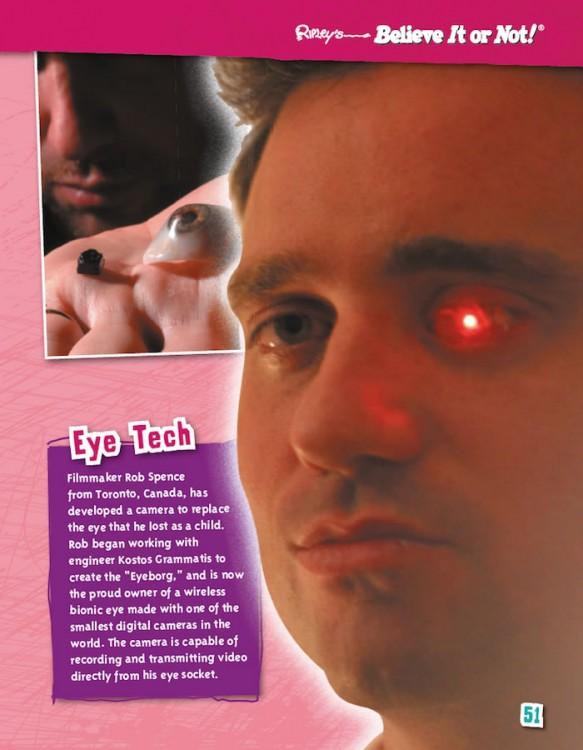 Unbelievably Zany! eyeborg
