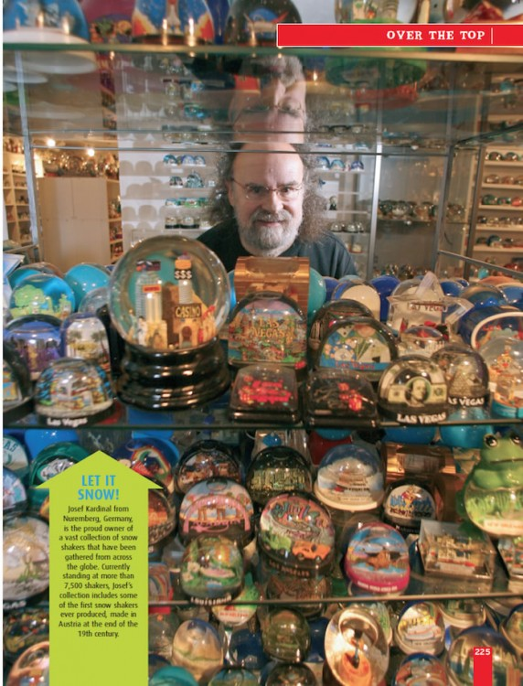 The Remarkable Revealed! snow globe collector