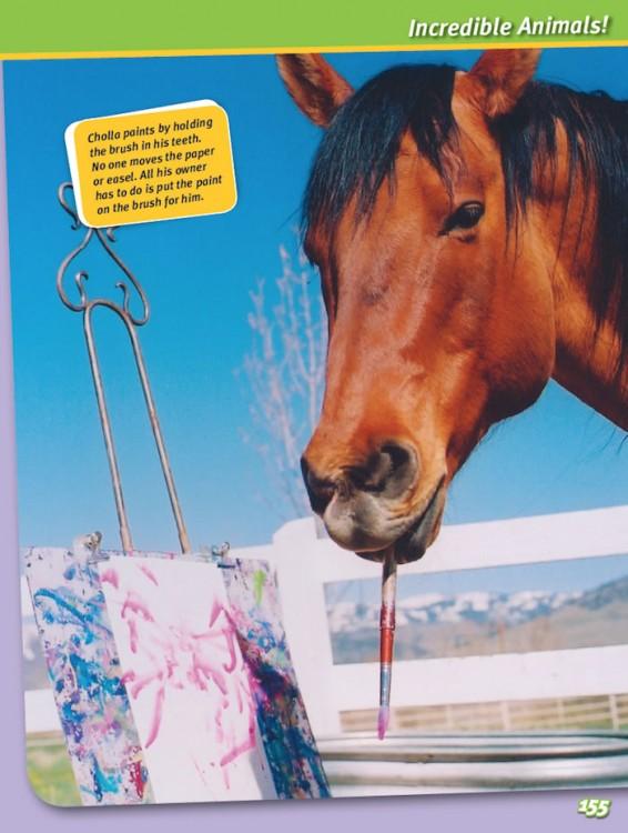 Incredibly Strange! horse painter