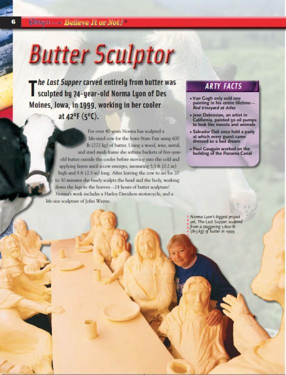 butter sculptor