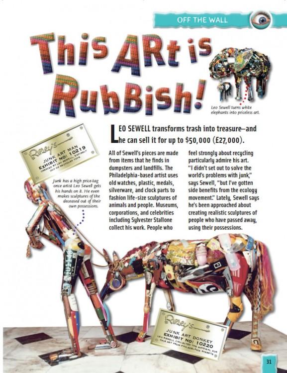 Planet Eccentric art trash