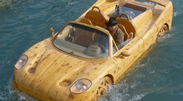 Ripley's Is Sailing A Wooden Ferrari