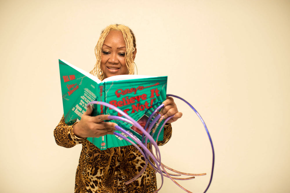 Ayanna Williams Reading Reality Shock!