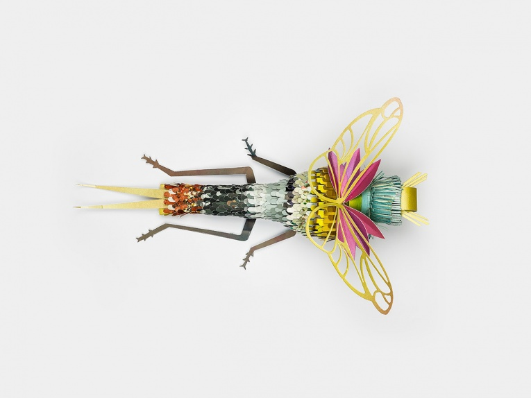 Hand Made Paper Insect By SOON