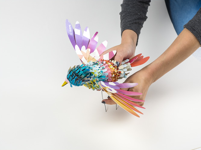 Hand Made Paper Bird By SOON