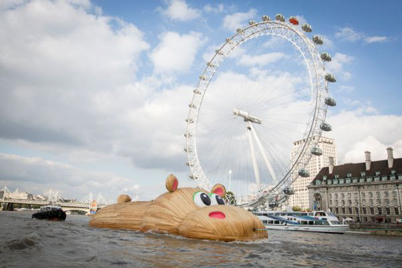 The Hippopothames. 21 Meters long