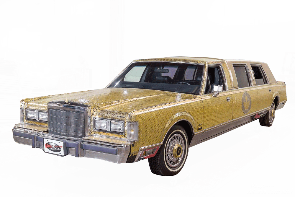 Gold Coin Covered Stretch Limo Ripley S Believe It Or Not