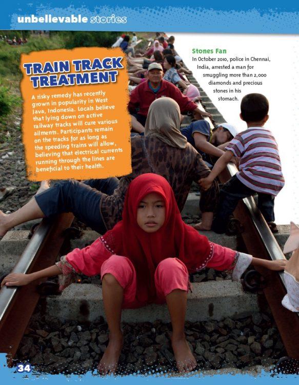 train track treatment