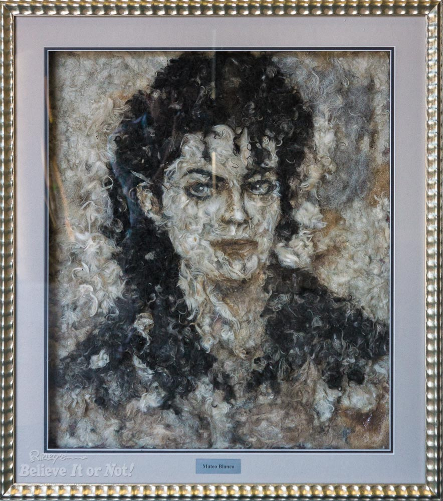 Michael jackson in Dog Fur by Mateo Blanco