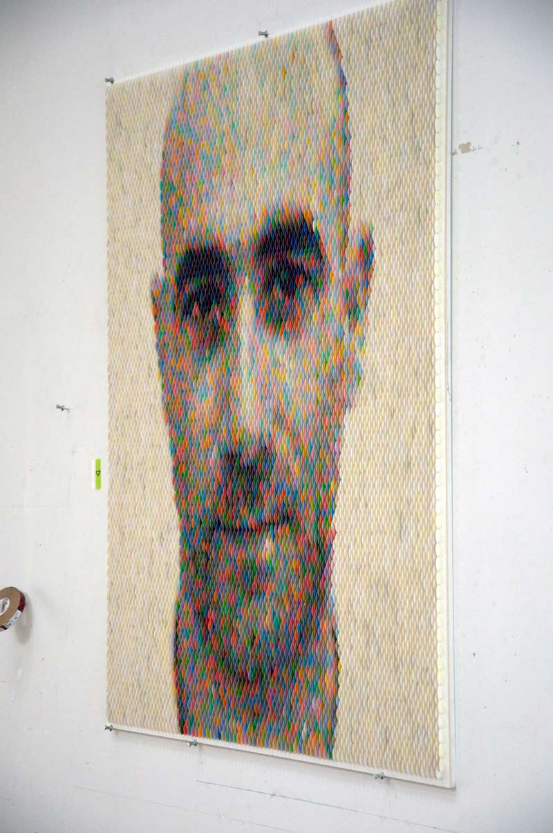 """""""Mike Landry 2"""" which is displayed in Miami right now!"""
