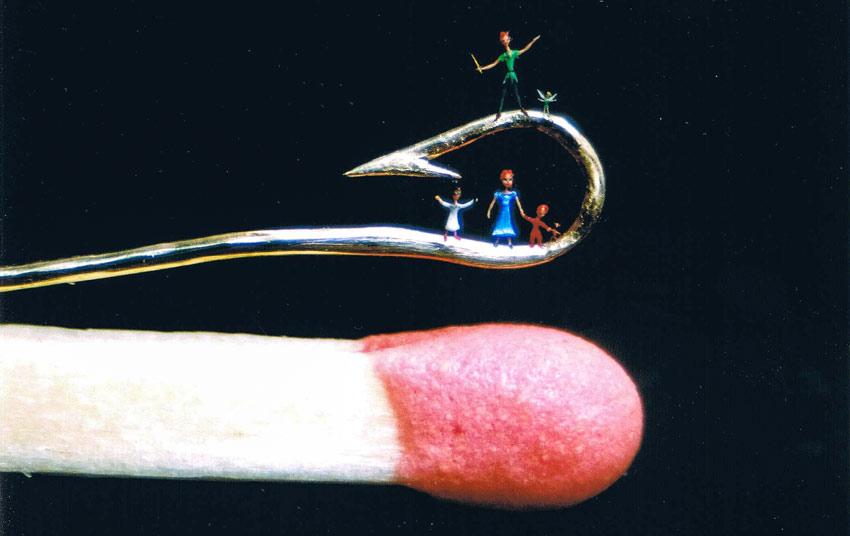 Peter Pan on a Hook!