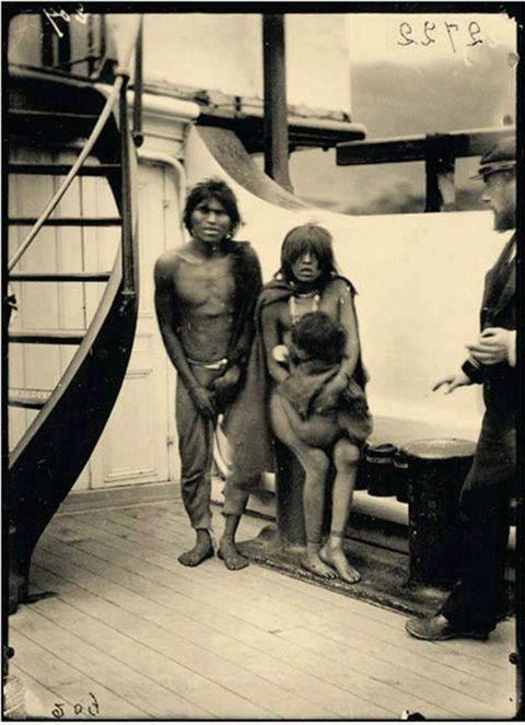 Selknam natives