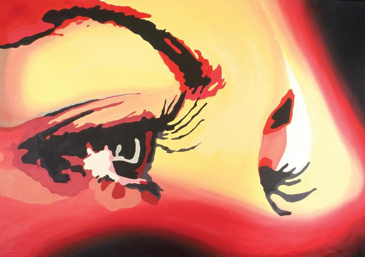 John Bramblitt Eyes Closeup