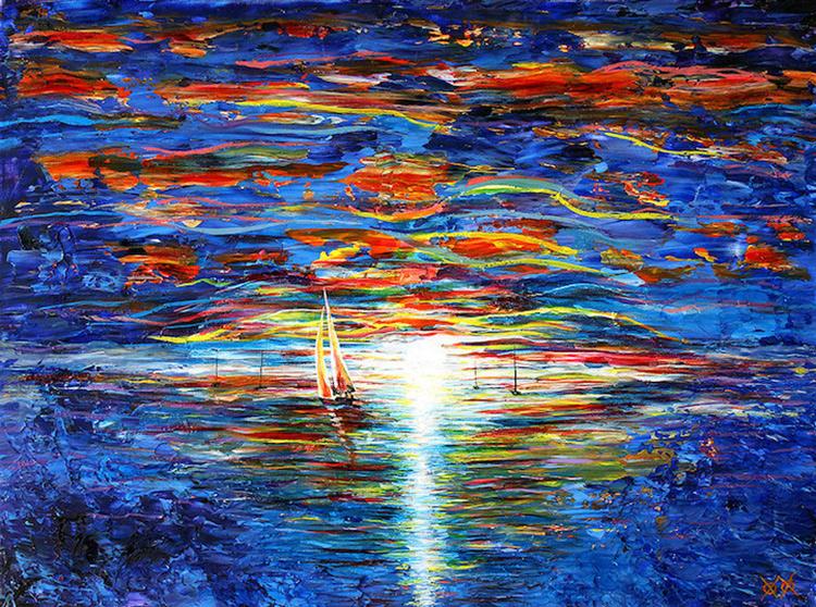 John Bramblitt Seascape