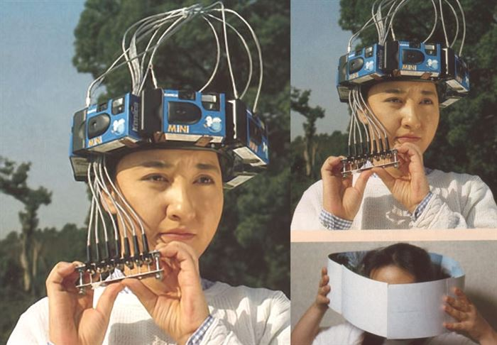 360 Head-mounted Camera hat