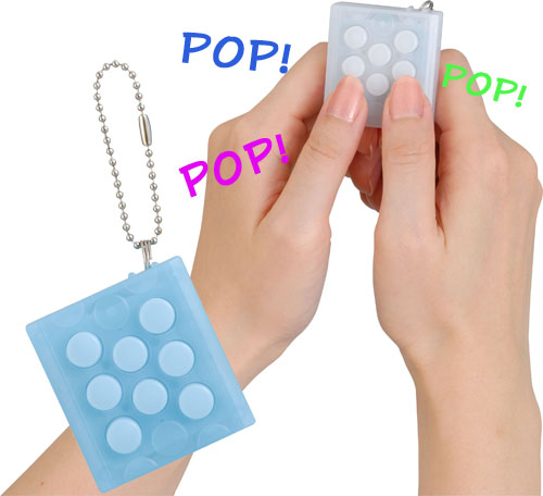 Bubble Wrap Keychain