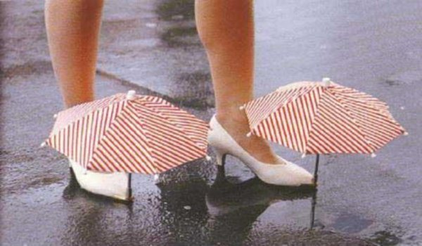 Shoe Umbrellas