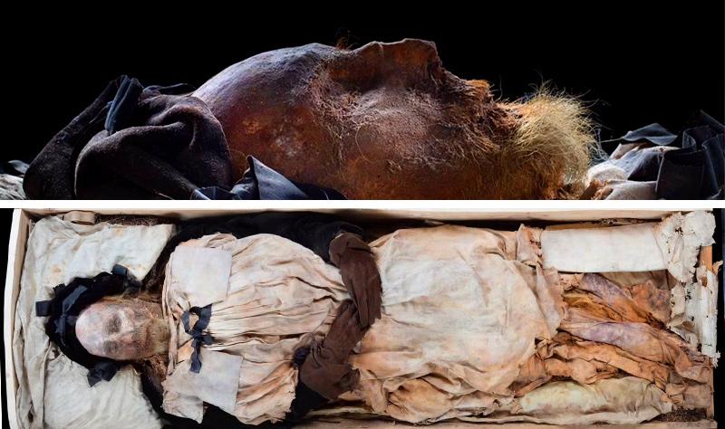 mummified bishop