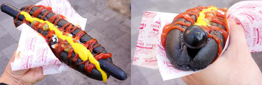 Black Hot Dog